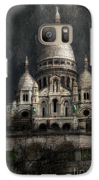 Galaxy Case featuring the photograph Sacre-coeur, Paris by Elena Nosyreva