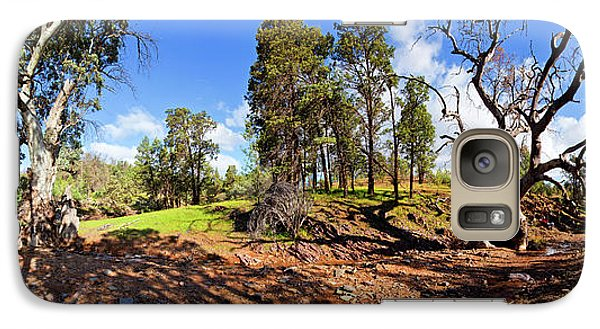 Galaxy Case featuring the photograph Sacred Canyon, Flinders Ranges by Bill Robinson