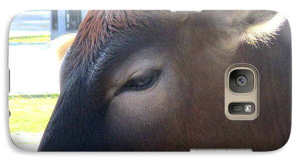 Galaxy Case featuring the photograph Sacred Cow 4 by Randall Weidner