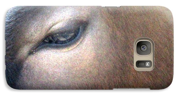 Galaxy Case featuring the photograph Sacred Cow 5 by Randall Weidner