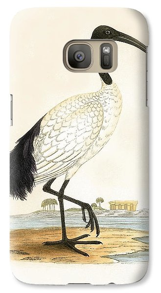 Stork Galaxy S7 Case - Sacred Ibis by English School