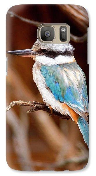 Kingfisher Galaxy S7 Case - Sacred Kingfisher by Mike  Dawson