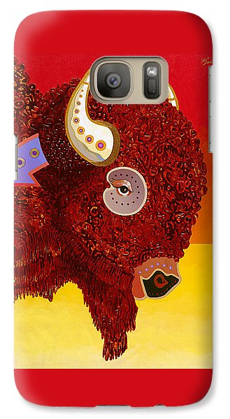 Galaxy Case featuring the painting Sacred Monarch by Bob Coonts