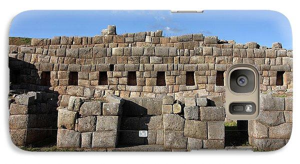 Galaxy Case featuring the photograph Sacsaywaman Cusco, Peru by Aidan Moran