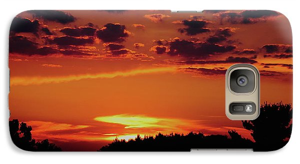 Galaxy Case featuring the photograph Sadie's Sunset by Bruce Patrick Smith