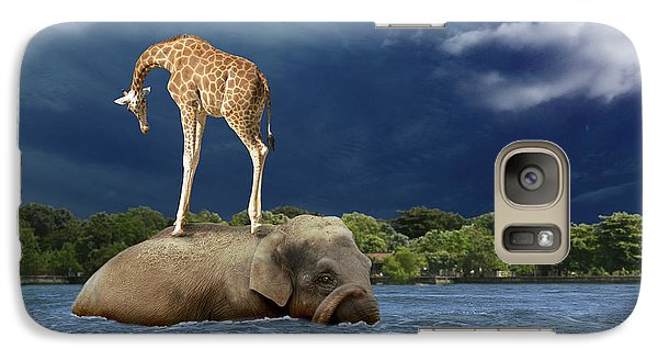 Surrealism Galaxy S7 Case - Safe by Martine Roch