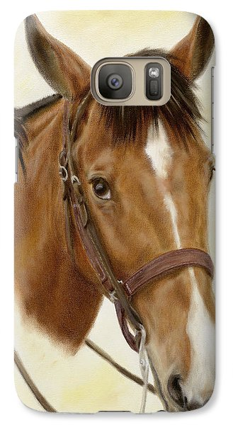 Galaxy Case featuring the painting Safe Passage by Cathy Cleveland