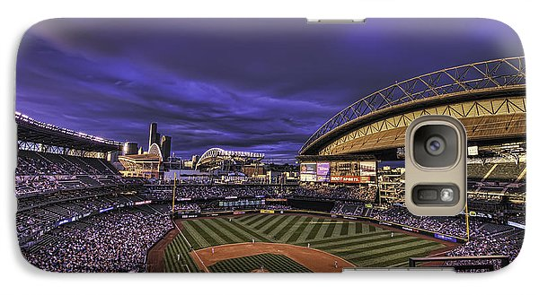 Safeco Field Galaxy Case by Dan McManus