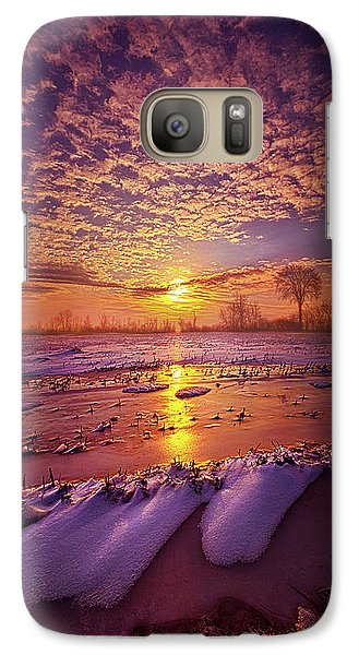 Galaxy Case featuring the photograph Safely Secluded In A Far Away Land by Phil Koch