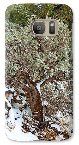 Galaxy Case featuring the photograph Sage Brush Williams Arizona by Donna Greene