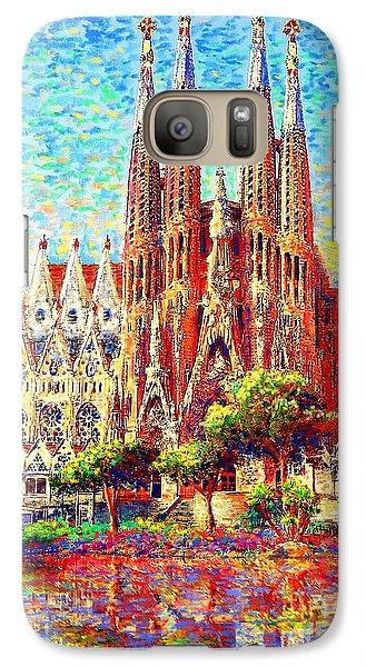 Barcelona Galaxy S7 Case - Sagrada Familia by Jane Small