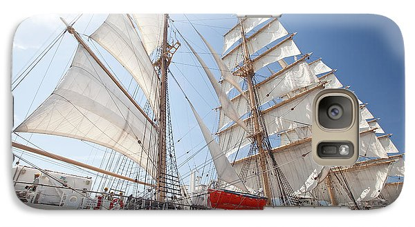 Galaxy Case featuring the photograph Sail Training Ship Nippon Maru by Aiolos Greek Collections