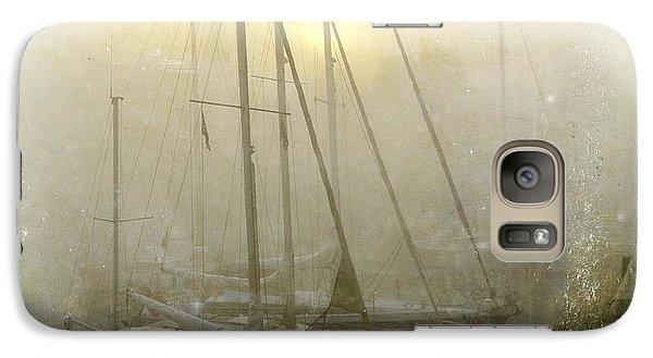 Boat Galaxy S7 Case - Sailboats In Honfleur. Normandy. France by Bernard Jaubert