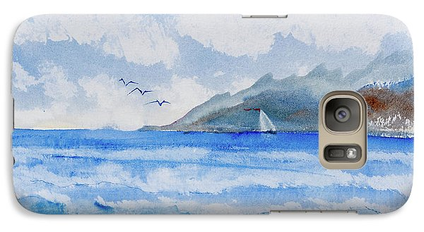 Sailing Into Moorea Galaxy S7 Case