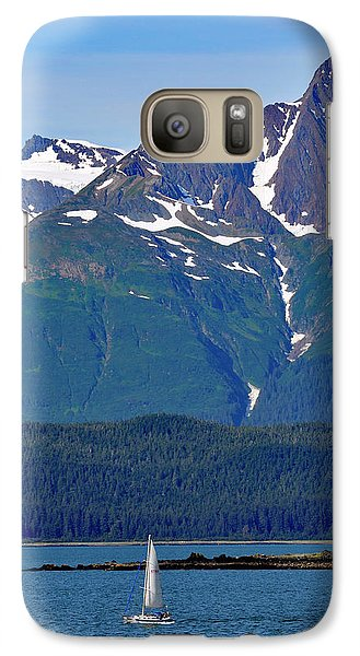 Galaxy Case featuring the photograph Sailing Lynn Canal by Cathy Mahnke