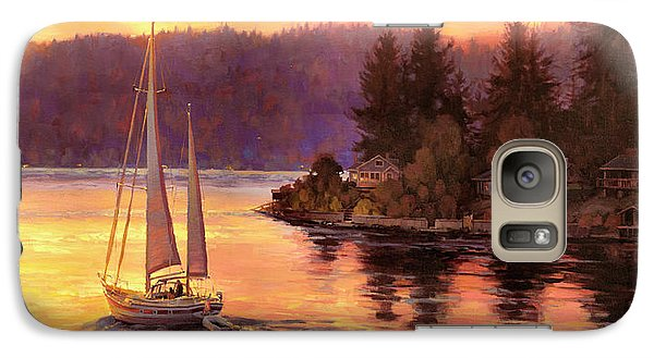 Seattle Galaxy S7 Case - Sailing On The Sound by Steve Henderson