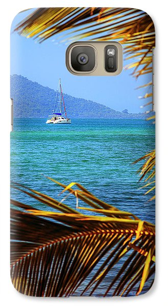 Galaxy Case featuring the photograph Sailing Vacation by Alexey Stiop