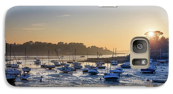 Galaxy Case featuring the photograph Saint Briac by Delphimages Photo Creations