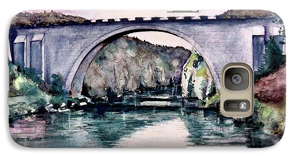 Galaxy Case featuring the painting Saint Bridge by Geni Gorani