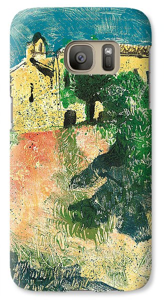 Galaxy Case featuring the painting Saint Donat Provence by Martin Stankewitz