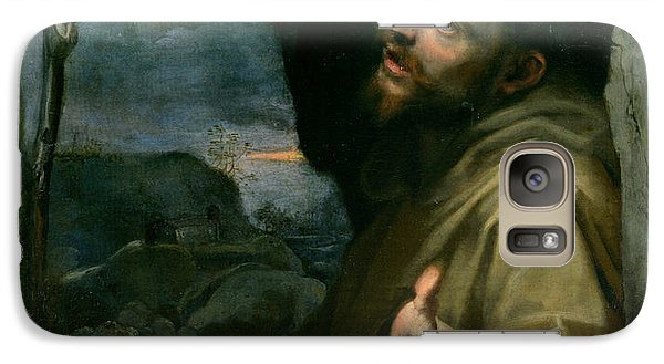 Galaxy Case featuring the painting Saint Francis by Federico Barocci
