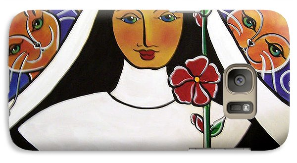 Saint Gertrude Of Nivelles Galaxy S7 Case