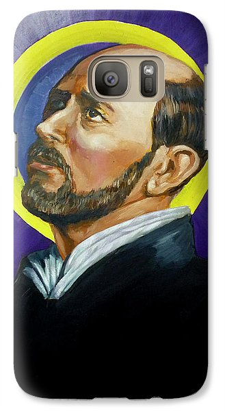 Galaxy Case featuring the painting Saint Ignatius Loyola by Bryan Bustard