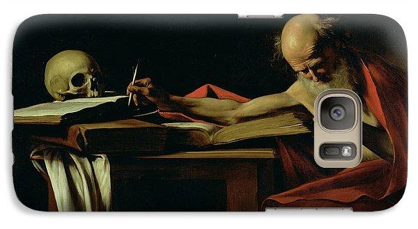 Saint Jerome Writing Galaxy Case by Caravaggio