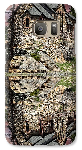 Galaxy Case featuring the photograph Saint Malo Panorama by Shane Bechler