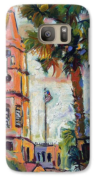 Galaxy Case featuring the painting Saint Michaels Church Charleston Sc Oil Painting by Ginette Callaway