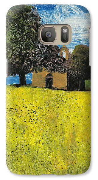 Galaxy Case featuring the painting Saint Pierre At Pierrerue by Martin Stankewitz