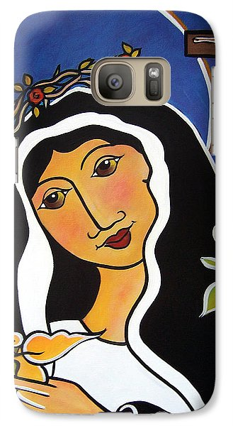 Saint Rita - Patron Of Impossible Causes Galaxy S7 Case