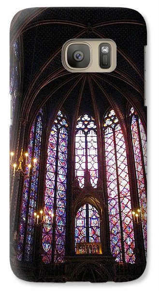 Galaxy Case featuring the photograph Sainte-chapelle by Christopher Kirby