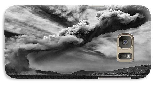 Galaxy Case featuring the photograph Sakurajima Volcano by Hayato Matsumoto