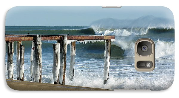 Galaxy Case featuring the photograph Salisbury Winter Storm by Betty Denise
