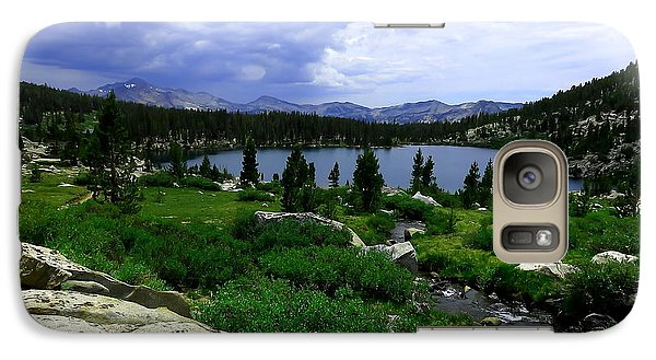 Galaxy Case featuring the photograph Sallie Keyes Storm by Paul Foutz