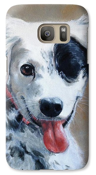 Galaxy Case featuring the painting Sally by Diane Daigle