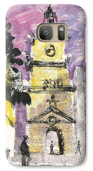 Galaxy Case featuring the painting Salon De Provence by Martin Stankewitz