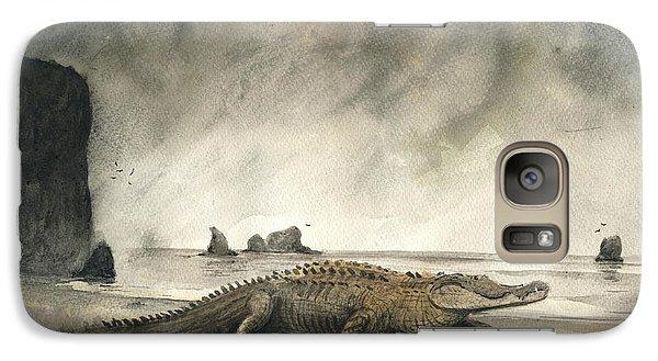 Saltwater Crocodile Galaxy S7 Case