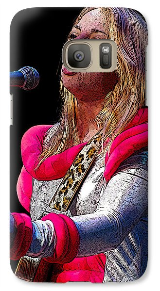Galaxy Case featuring the photograph Samantha Fish by Jim Mathis