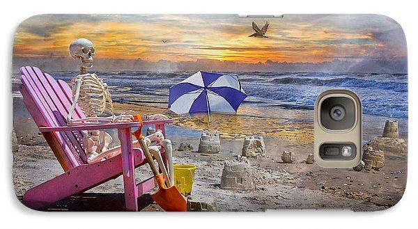 Sam's  Sandcastles Galaxy S7 Case by Betsy Knapp