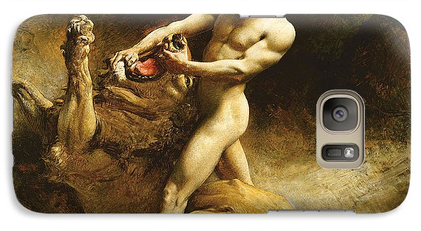 Bass Galaxy S7 Case - Samson's Youth by Leon Joseph Florentin Bonnat