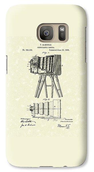 Samuels Photographic Camera 1885 Patent Art Galaxy S7 Case