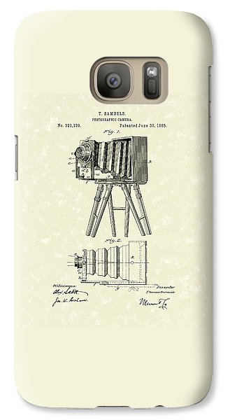 Samuels Photographic Camera 1885 Patent Art Galaxy S7 Case