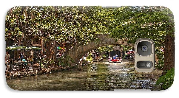 San Antonio Riverwalk Galaxy S7 Case