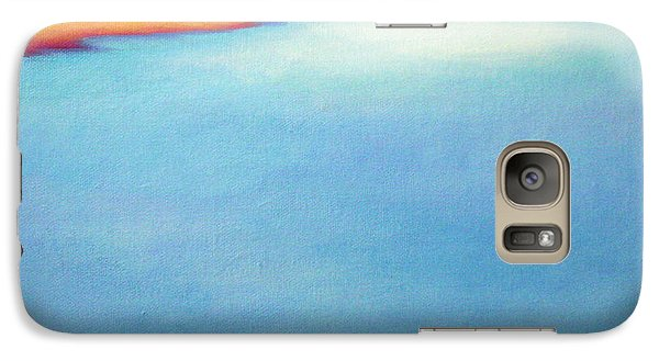 Galaxy Case featuring the painting San Blas Shallows by Angela Treat Lyon