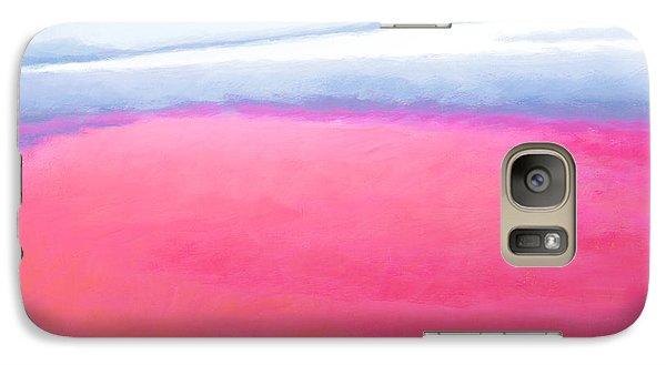 Galaxy Case featuring the painting San Blas Sunrise by Angela Treat Lyon