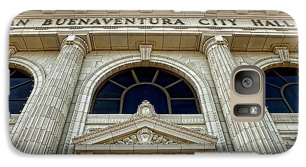 Galaxy Case featuring the photograph San Buenaventura City Hall by John A Rodriguez