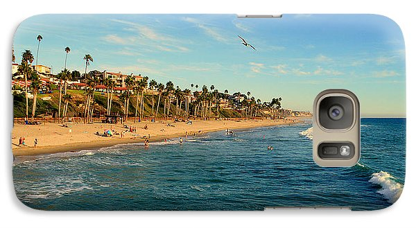 Galaxy Case featuring the photograph San Clemente Coastline - California by Glenn McCarthy Art and Photography