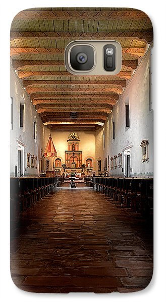 Galaxy Case featuring the photograph San Diego De Alcala by Christine Till